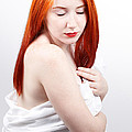 Beautiful Redhead Studio Shot by Gabriela Insuratelu