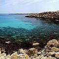 Beautiful View On Mediterranean Sea Cape Gkreko In Cyprus by Oleksiy Maksymenko