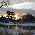 Beautiful Winter Dawn by Kent Lorentzen