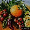 Beauty Of Good Eats by Karen  Ferrand Carroll