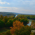 Beauty On The Bluffs Autumn Colors by Peggy Franz