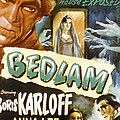 Bedlam, Boris Karloff, Anna Lee, 1946 by Everett