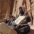 Bedouin Musician by Dave Eitzen