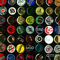 Beer Bottle Caps . 9 To 12 Proportion by Wingsdomain Art and Photography