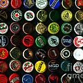 Beer Bottle Caps . 8 To 12 Proportion by Wingsdomain Art and Photography