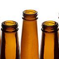 Beer Bottles 1 A by John Brueske