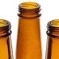 Beer Bottles 1 B by John Brueske
