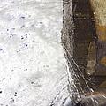 Behind Bridal Veil Falls In Dupont State Park Nc by Dustin K Ryan