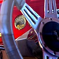 Behind The Wheel Of A 1940 Ford by Maria Urso