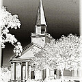 Belin Umc Black And White Sabattier by Bill Barber