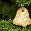 Bell Shape Short Bread Cookie by U Schade