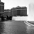 Bellagio Fountains by Ricky Barnard