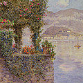 Bellagio From Tremezzo by Ernest Arthur Rowe