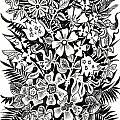Bells And Cornflowers by Margarita Kobyzova