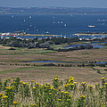Bembridge Harbour And The Solent by Rod Johnson