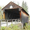 Bement Covered Bridge by Wayne Toutaint