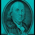 Ben Franklin In Turquois by Rob Hans