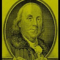 Ben Franklin In Yellow by Rob Hans