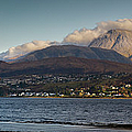Ben Nevis And Loch Linnhe Panorama by Gary Eason
