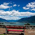 Bench With Panorama View by Mats Silvan