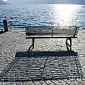 Bench With Shadow by Mats Silvan