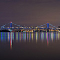Benjamin Franklin Bridge by Conor McLaughlin
