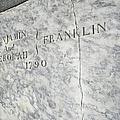 Benjamin Franklin's Grave by Snapshot Studio