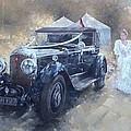 Bentley And Bride  by Peter Miller