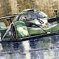 Bentley Prototype Exp Speed 8 Le Mans Racer Car 2001 by Yuriy  Shevchuk