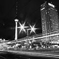 Berlin Alexanderplatz At Night by Bernd Schunack