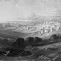 Bethlehem Engraving By William Miller by Munir Alawi