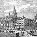 Bethnal Green Market, 1869 by Granger