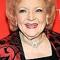 Betty White At Arrivals For Time 100 by Everett