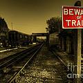 Beware Of Trains by Rob Hawkins