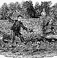Bewick: Boy With Dogs by Granger