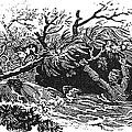Bewick: Man Drowning by Granger