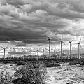 Beyond The Clouds Bw by William Dey