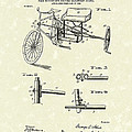 Bicycle Extension Frame 1903 Patent Art by Prior Art Design