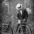 Bicycle Radio Antenna, 1914 by