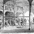 Bicycle Tournament, 1869 by Granger