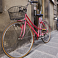 Bicycles Parked In The Street by Jeremy Woodhouse