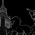 Big Ben And Boudica by David Pyatt