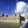 Big Ben And Houses Of Parliament, London, Uk by Hisham Ibrahim