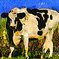 Big Bull 2 . 7d12437 by Wingsdomain Art and Photography