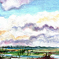 Big Clouds by Clara Sue Beym