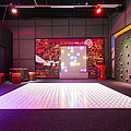 Big Electronic Gaming Mat With A Beamer by Corepics