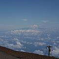 Big Island - Island Of Hawaii - View From Haleakala Maui by Sharon Mau