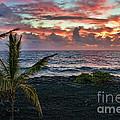 Big Island Sunrise by Gary Beeler