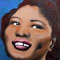 Big Mama Thornton by Carolyn Veldbloem
