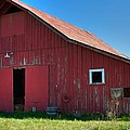 Big Red Barn by Gregory Dean